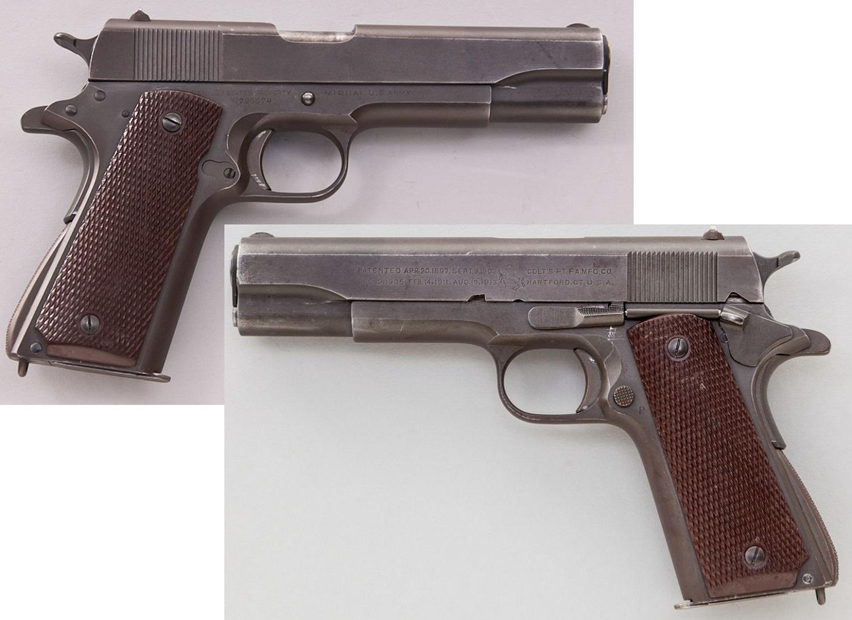 US Navy Colt Model 1911-A1 Semi-Automatic Pistol