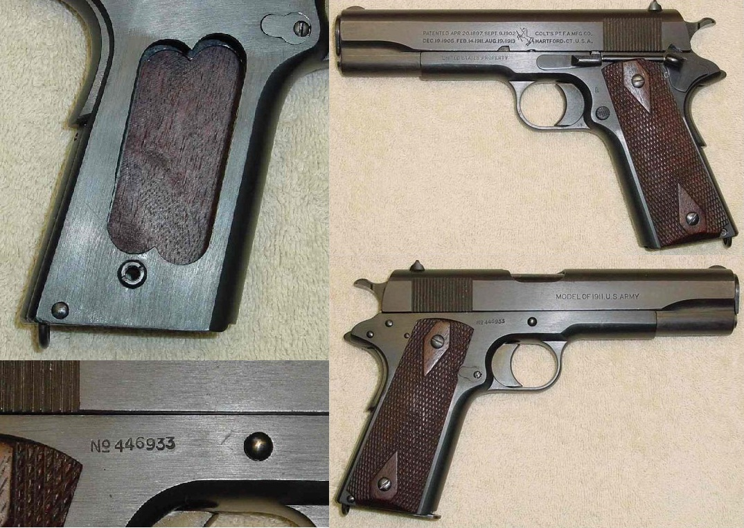 Colt Model of 1911 Black Army