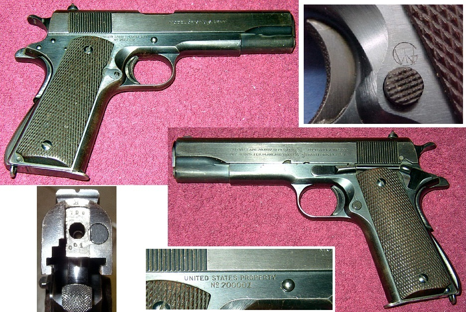 First 1911A1 Transition Model