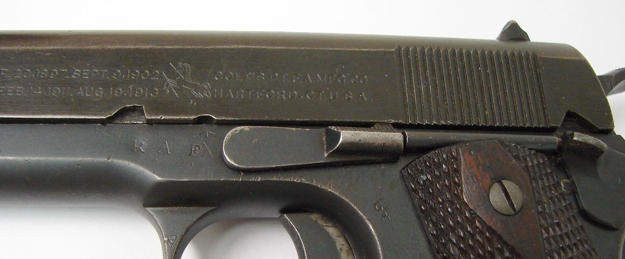 Colt 1911 455 Webley British Contract
