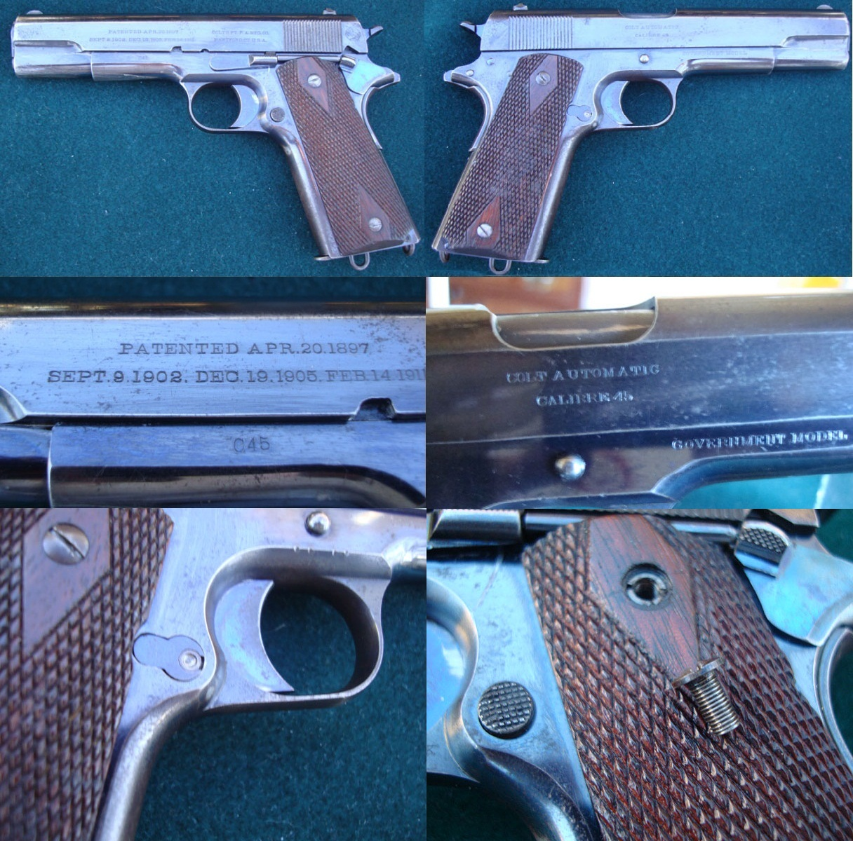 Early Colt Model 1911 civilian series