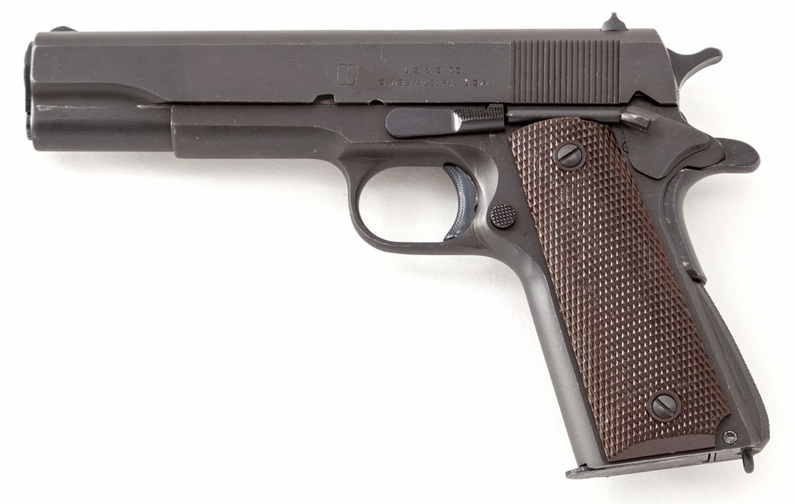 US Model 1911-A1 Semi-Automatic Pistol, by Union Switch & Signal