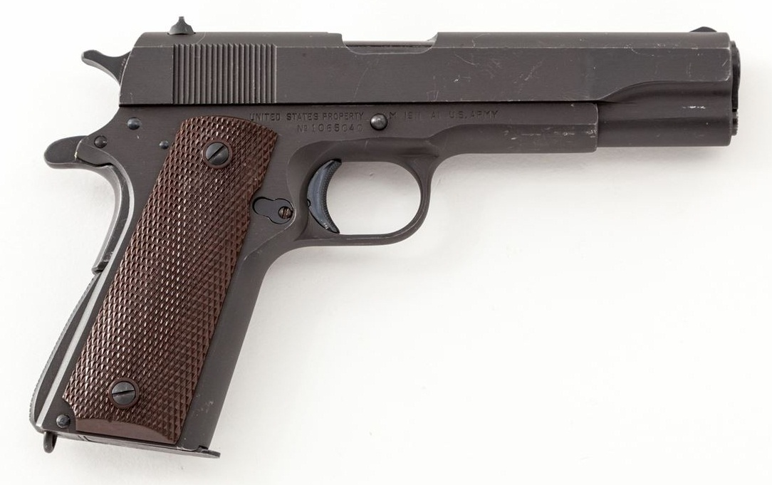 Model 1911-A1 Pistol, by Union Switch & Signal