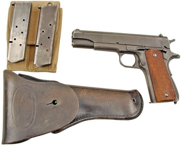 Colt Model 1911A1 holster