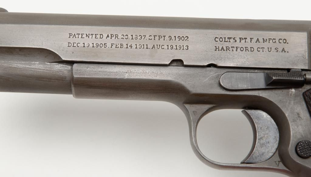 Colt Model of 1911 Russian Order