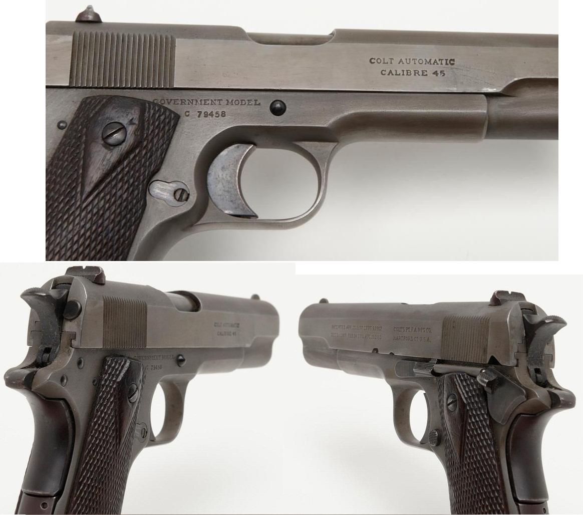 Colt 1911Cyrillic marking