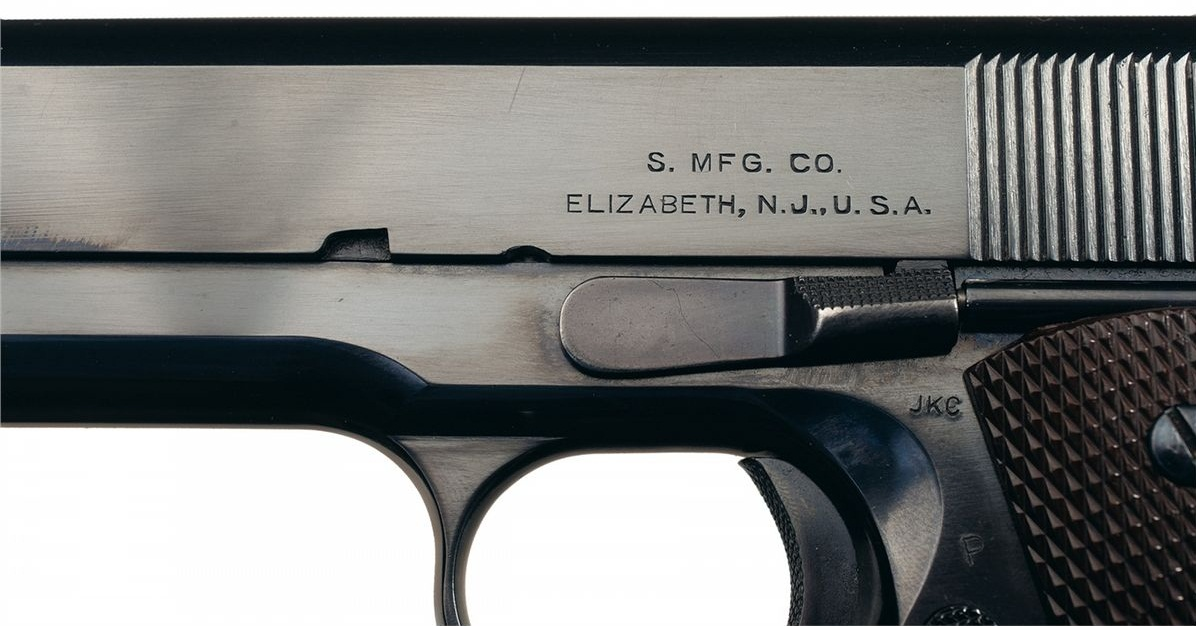 Model 1911A1 Singer Manufacturing Company