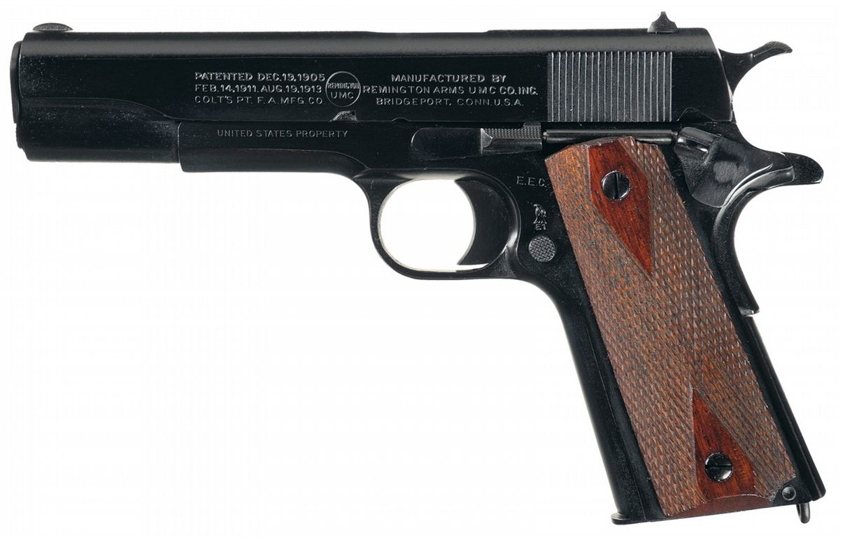 Contract Remington-U.M.C. Model 1911 Semi-Automatic Pistol