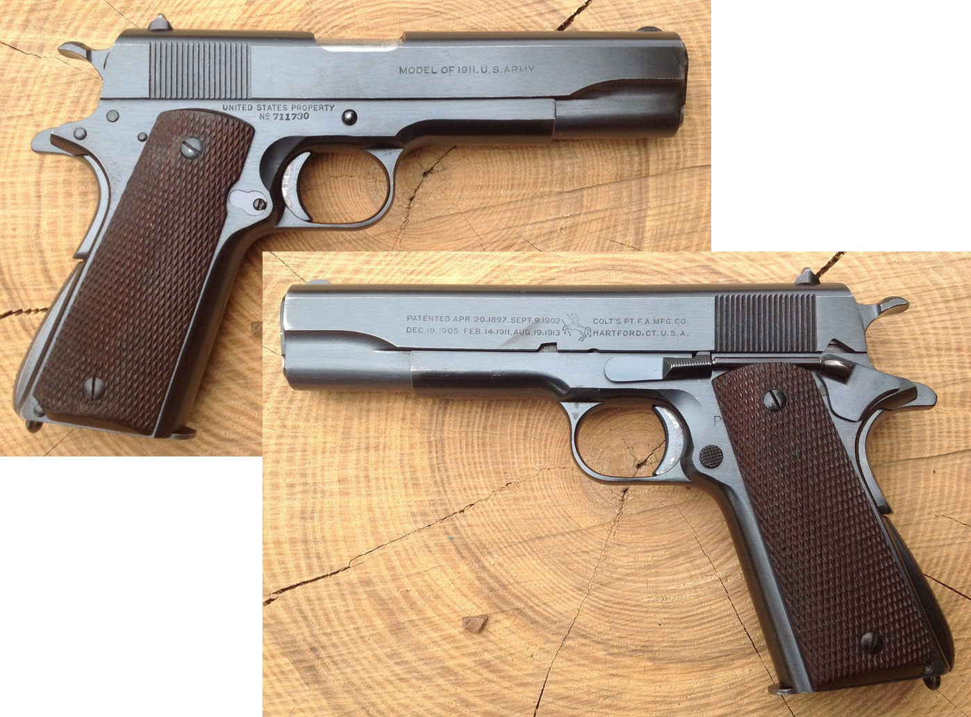 Early Navy Colt 1911-A1