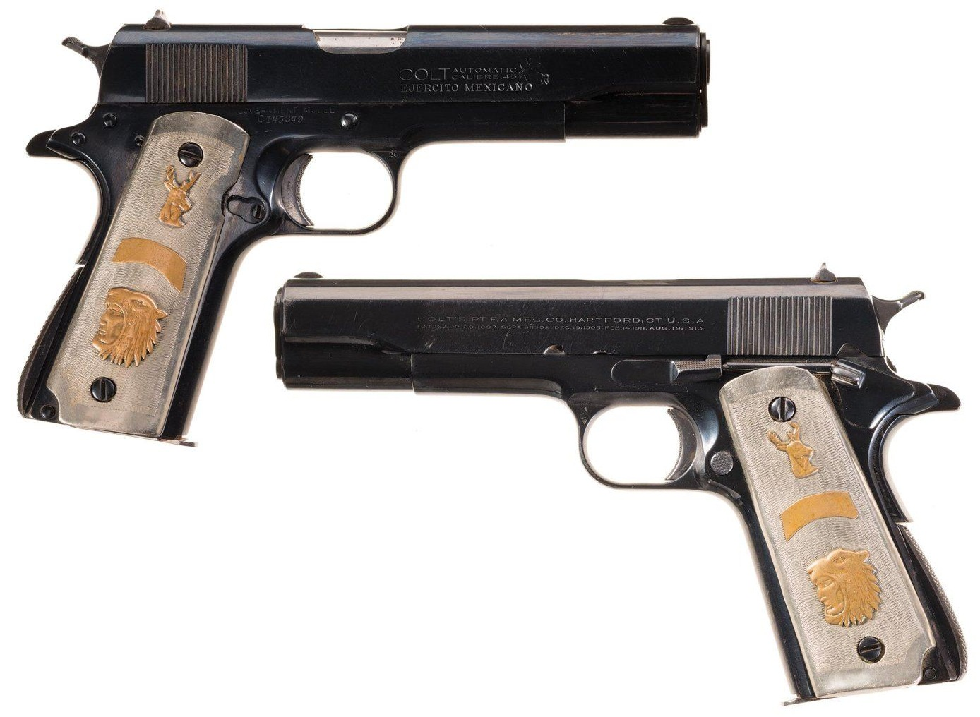 Colt Government Mexican Contract