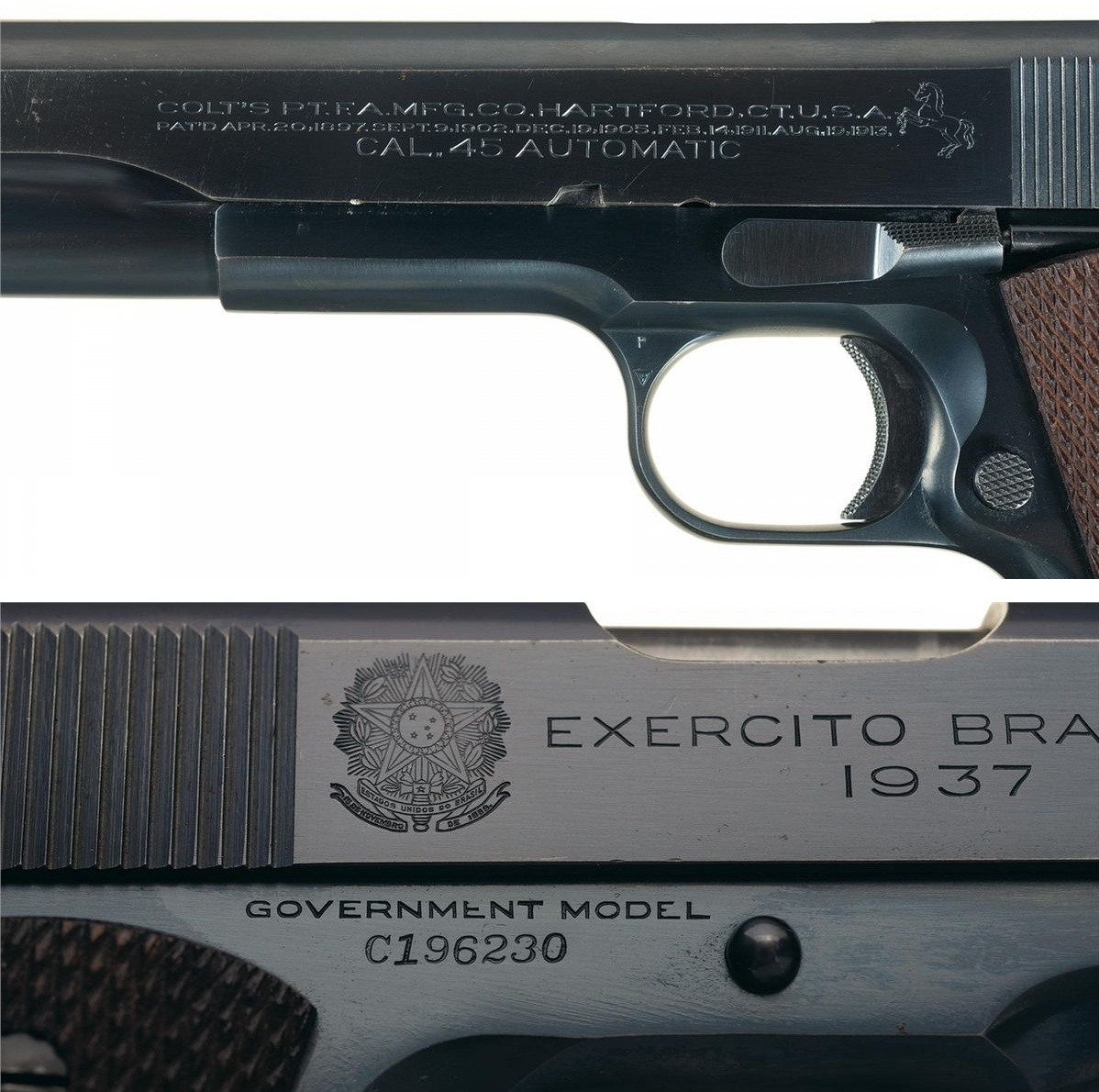 Colt Government Brazilian Contract