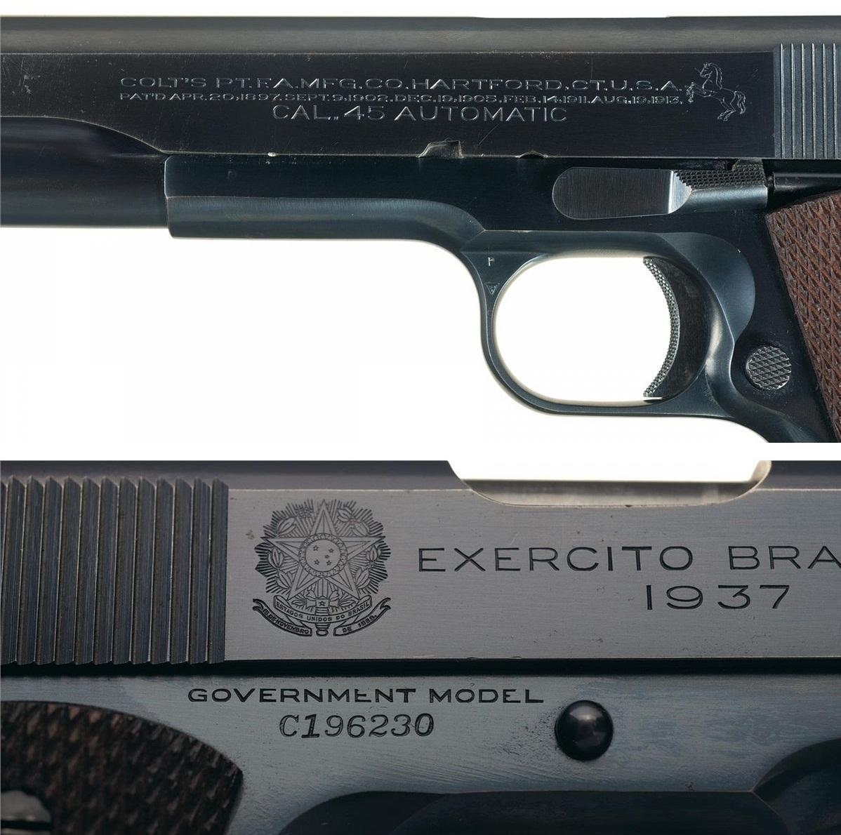 Colt Government Brazilian Contract