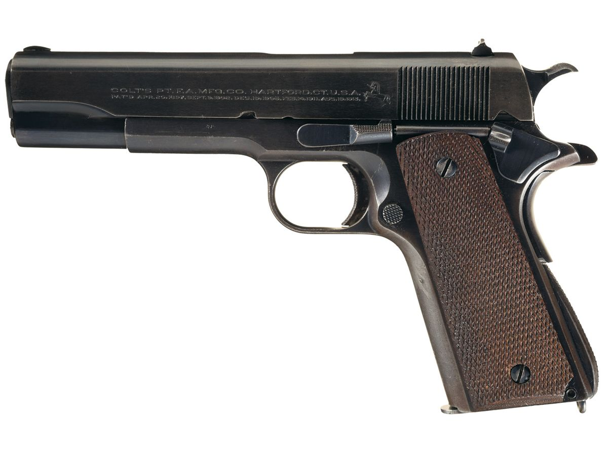 Early Production Colt Argentine Contract