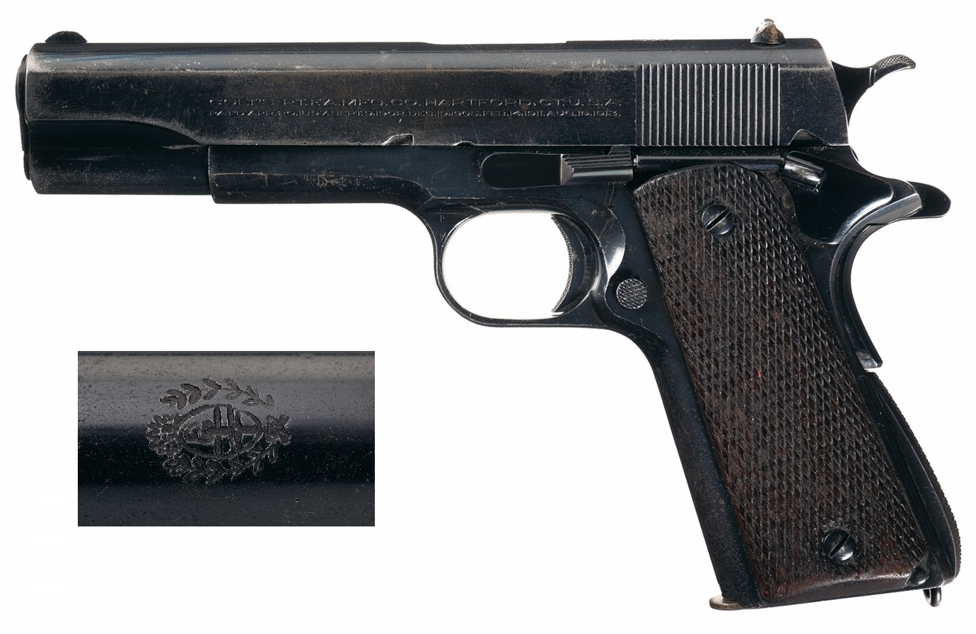 Colt Argentine Navy Purchase Government Model