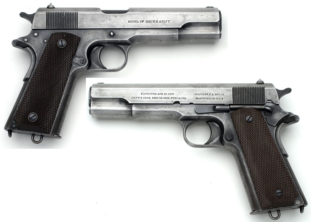 "Colt 1911 ""fine finish"" or ""dull finish"""