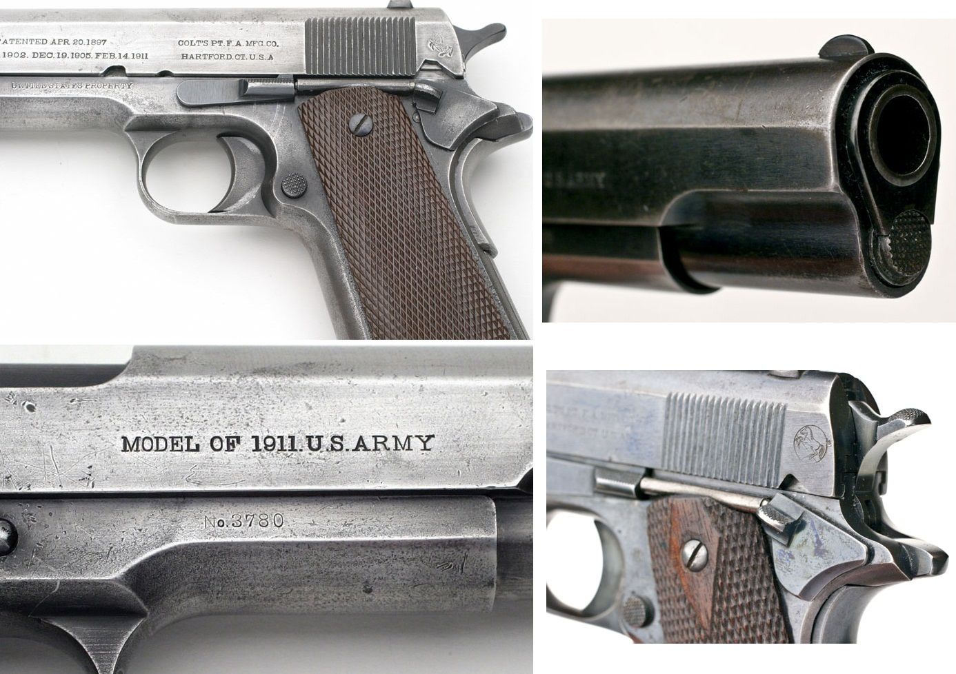 Colt Model of 1911 U.S. Marine Corps, First Shipment