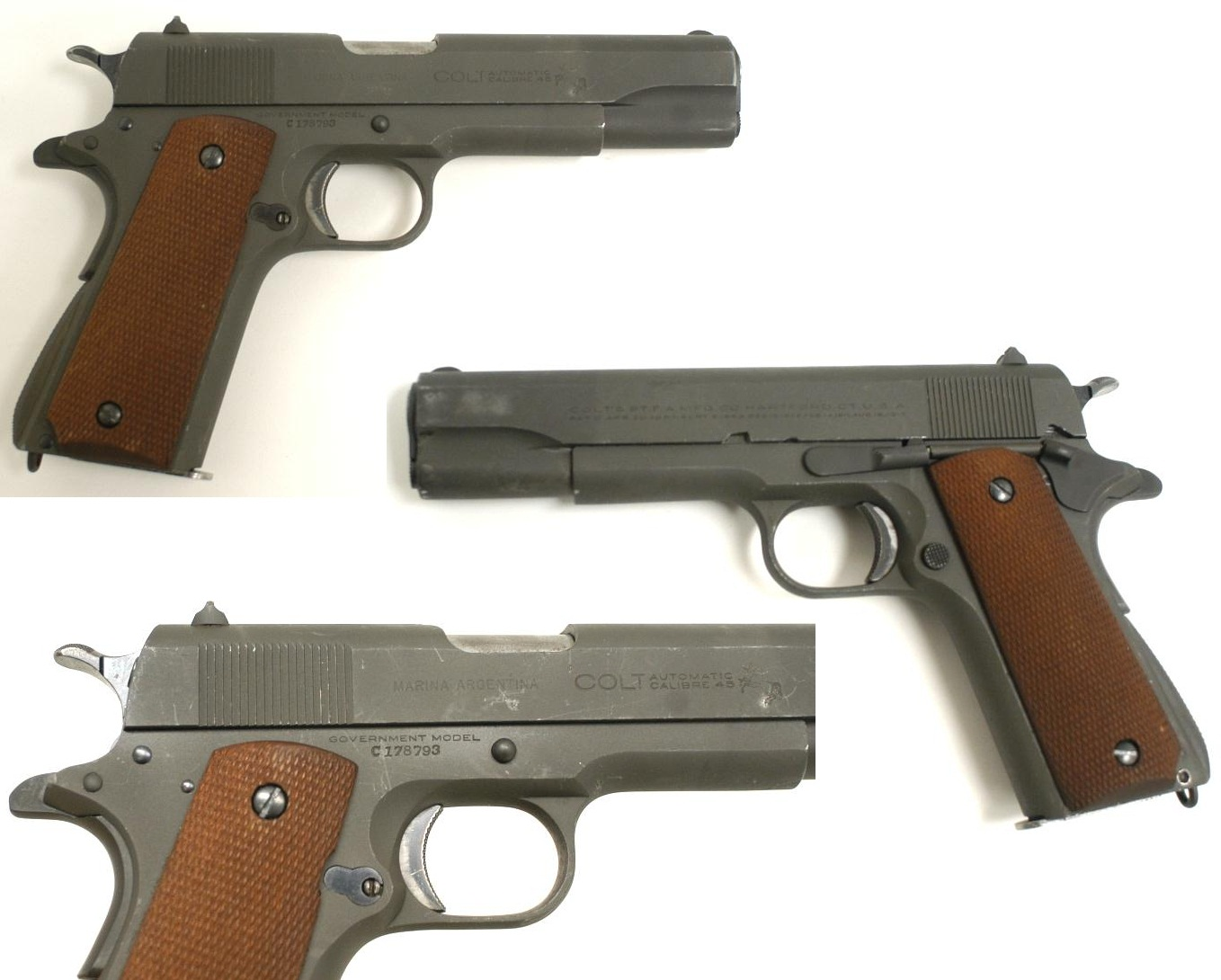 Colt Government Model 1911A1 Argentine Navy