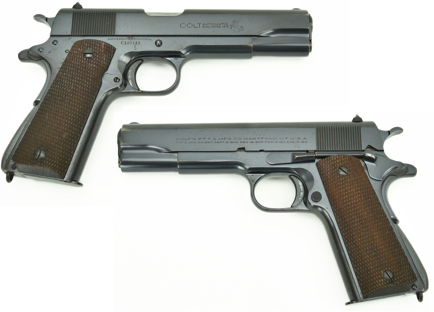 Pre-war Commercial Government Model 1911A1