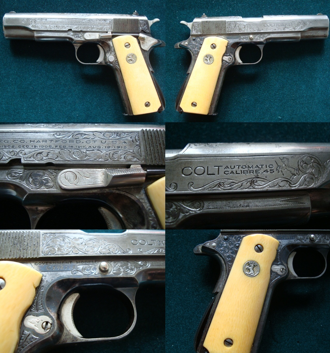 Colt Government Engraving
