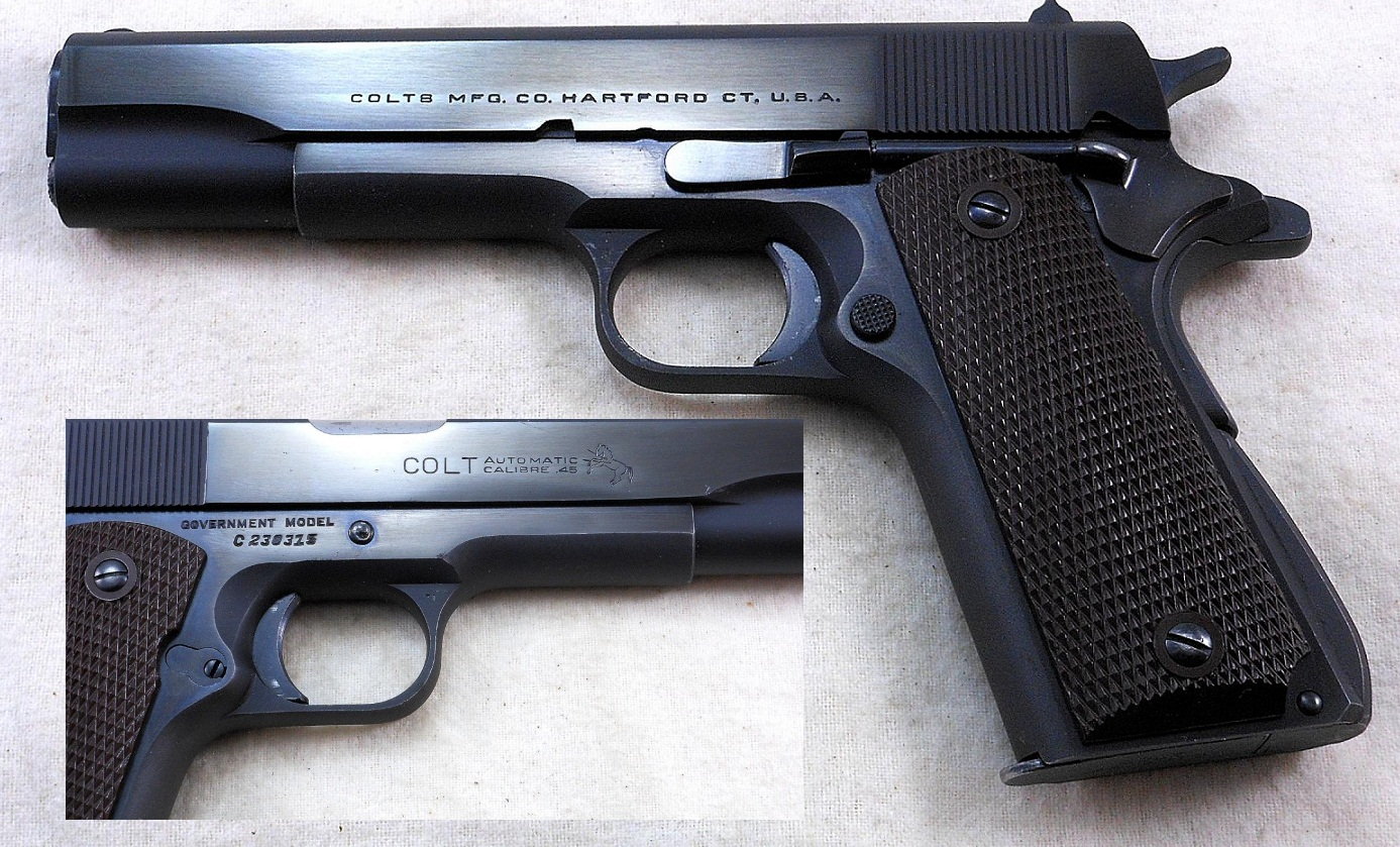 Early Post-War Colt Model 1911A1 Government