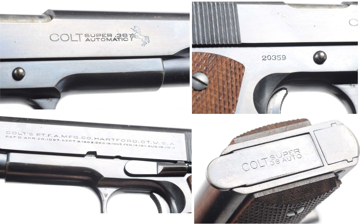 Colt Government caliber .38 Super