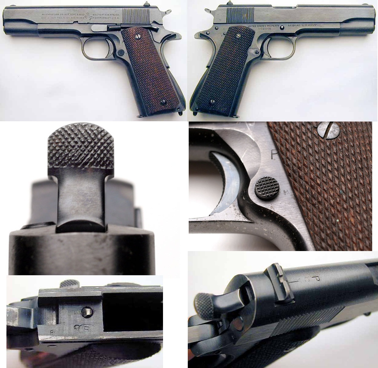 Colt M1911A11939 Navy Contract