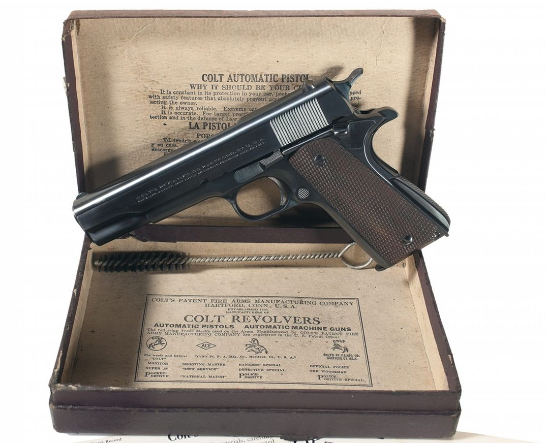 Colt Commercial Government Model 1911A1 with Colt Box