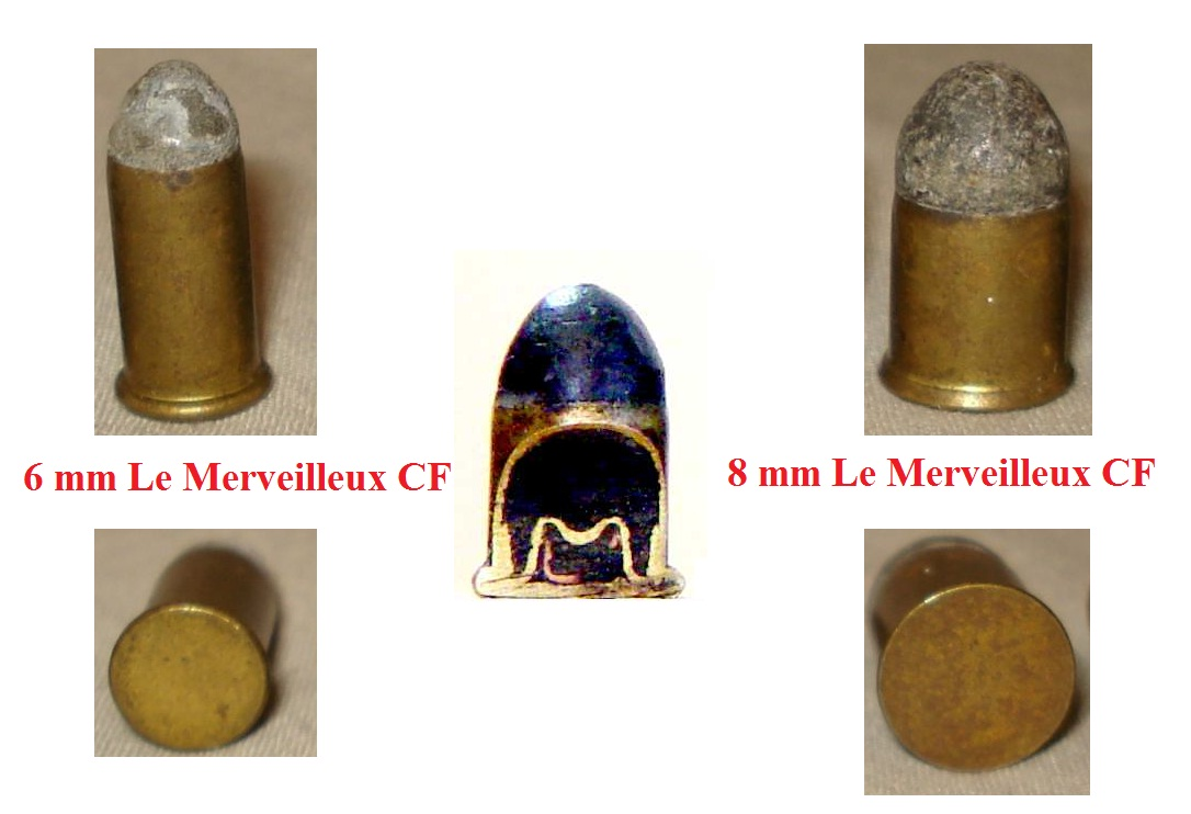 cartridge 6 mm Le Merveilleux CF