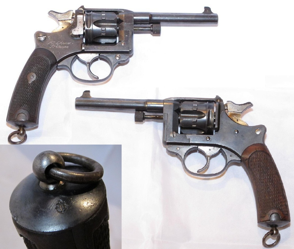 French Marine Model 1892 Revolver
