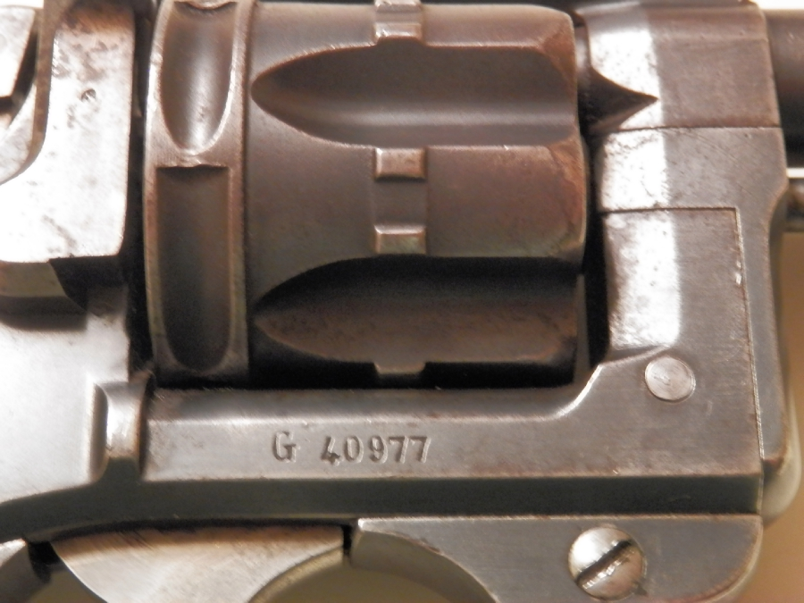 Французский револьвер образца 1892 года