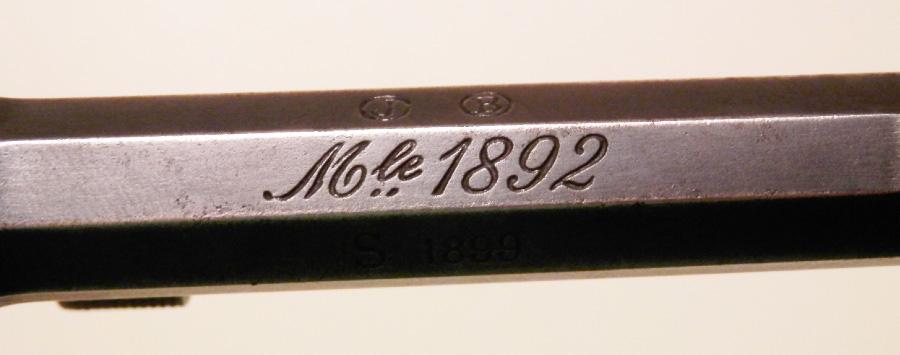 Le revolver de 8 mm modele 1892