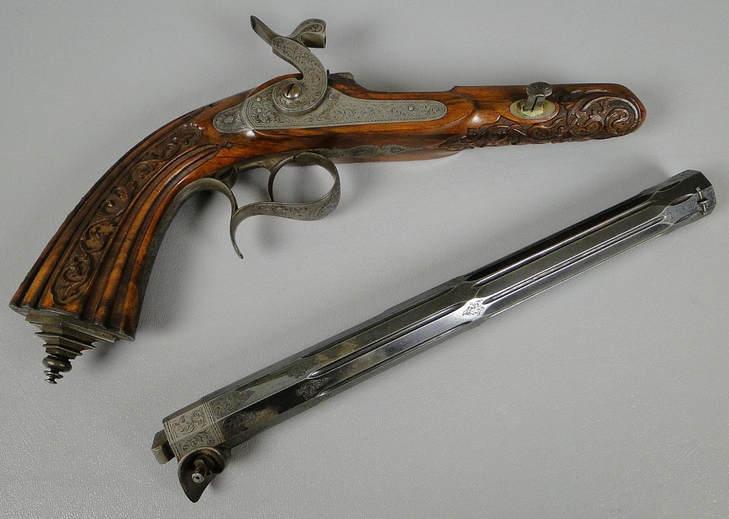Belgian Percussion Dueling Pistol