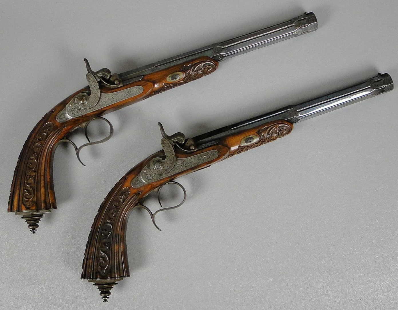 Belgian Percussion Dueling Pistols