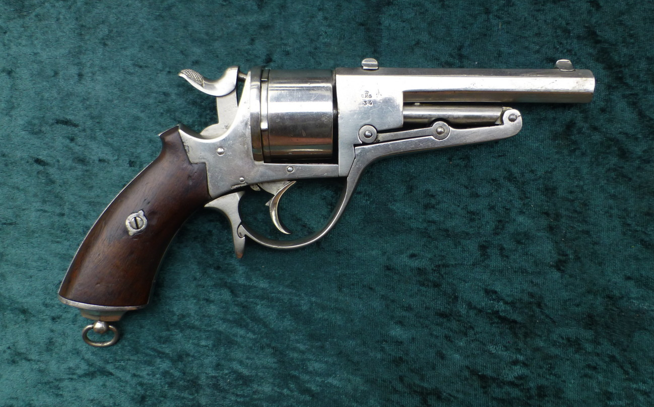 Early Revolver Galand M.1868