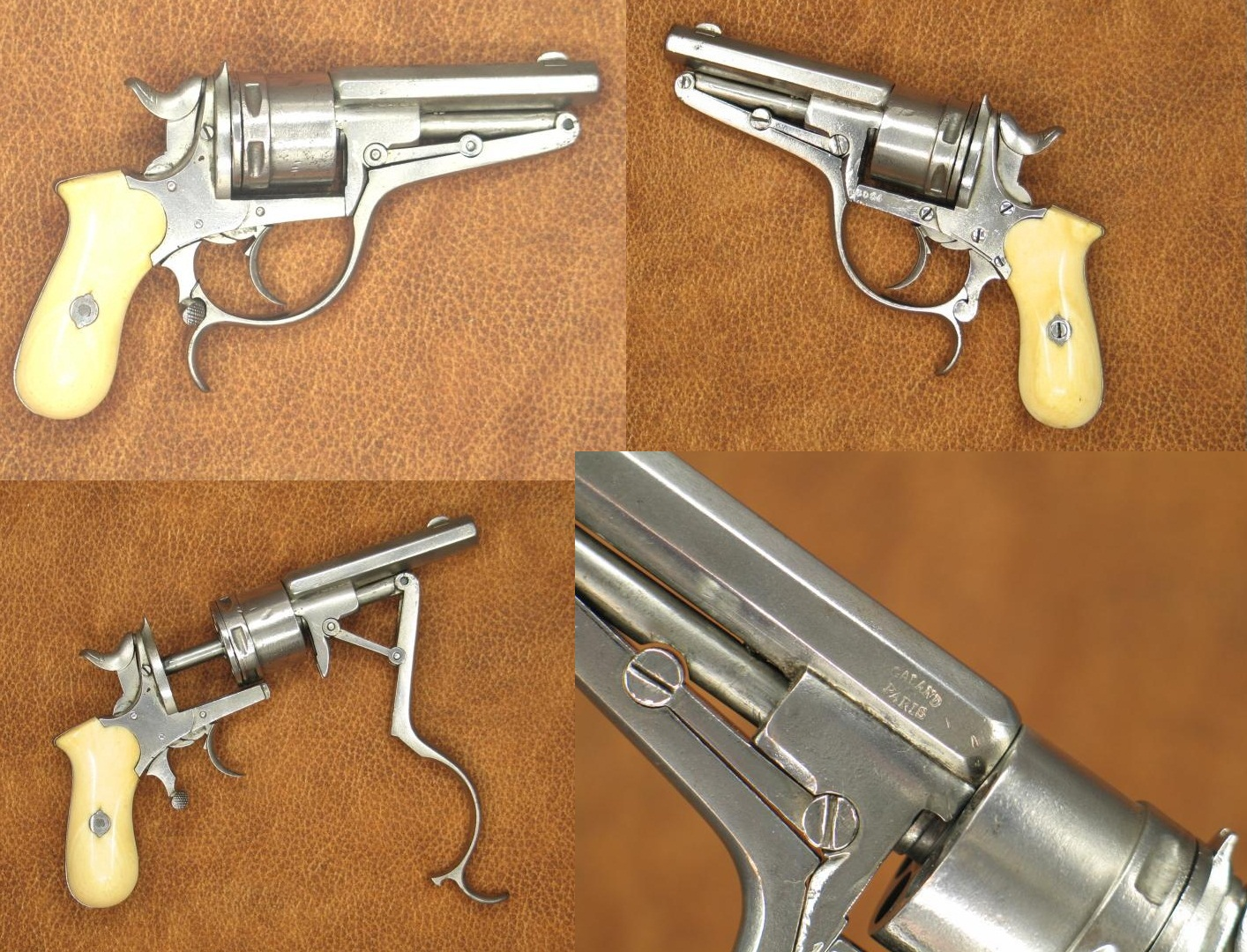 "Galand ""Baby"" Double Action Revolver"