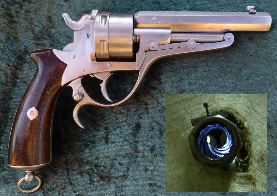Revolver Galand Self-Extracting Pocket