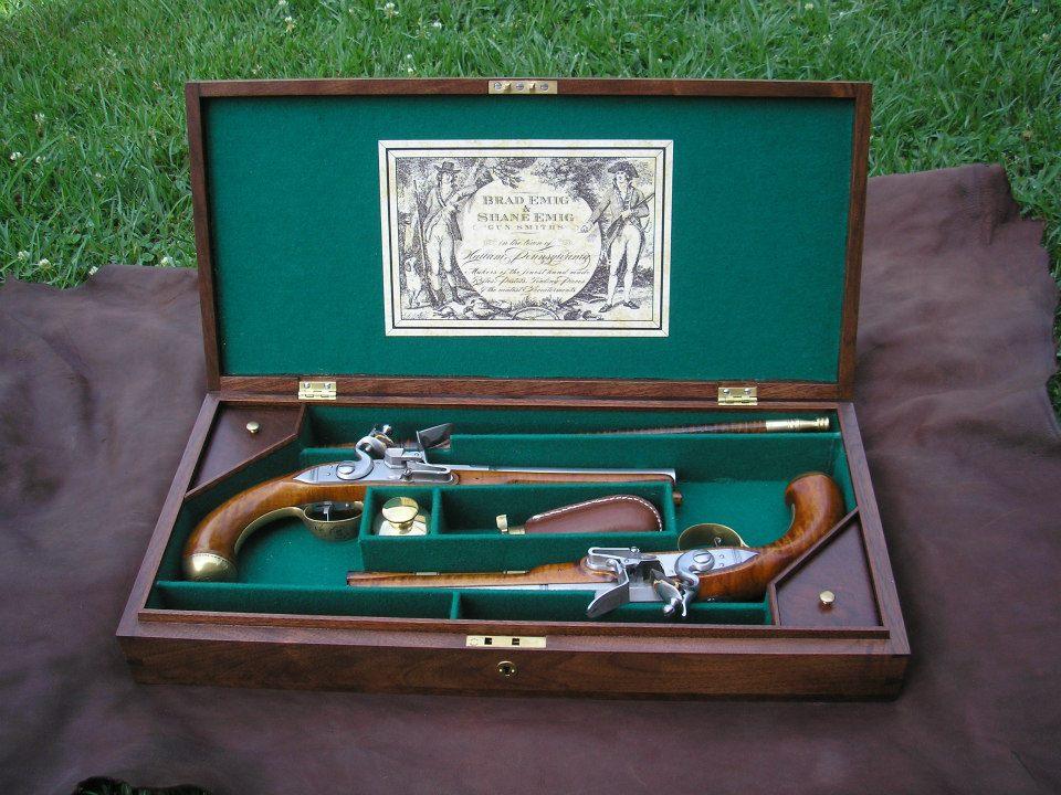Футляр для старинного оружия