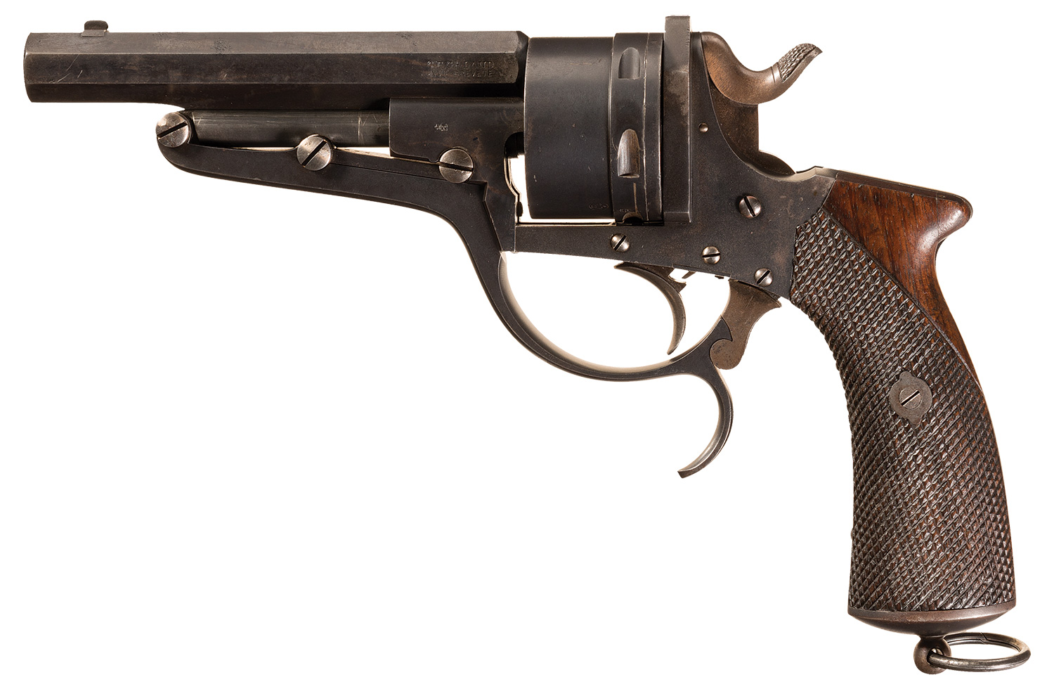 Galand Revolver Russian contract