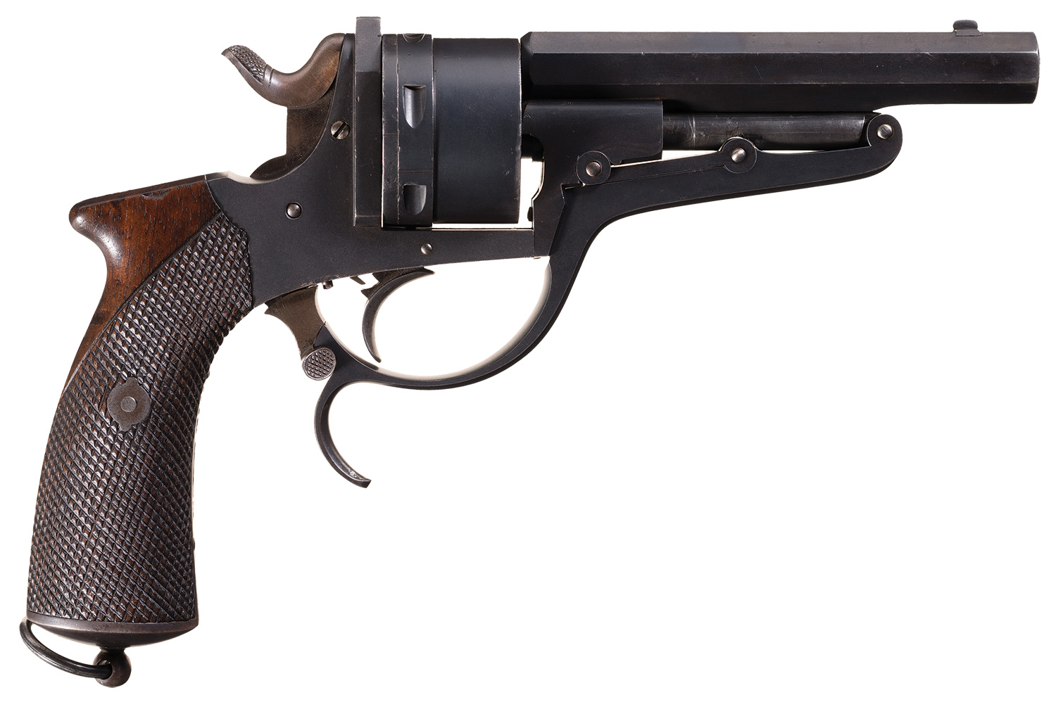Galand Revolver Russian navy contract