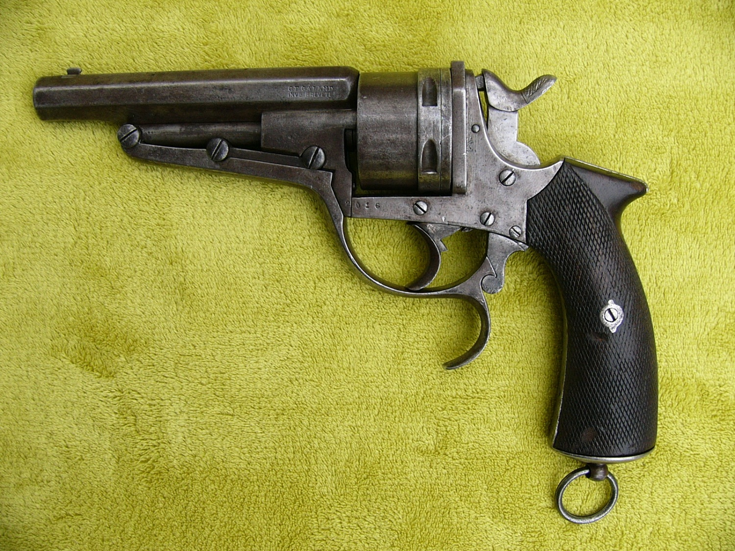 Galand Revolver for Russian border guards