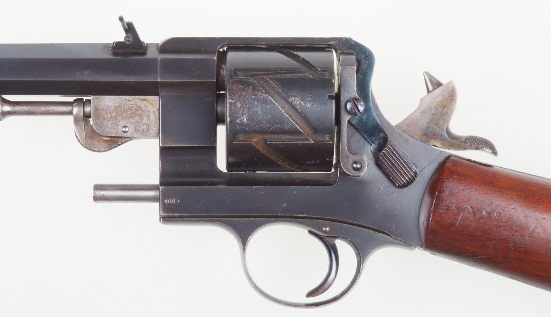 Mauser Zig Zag Mod.1878 solid frame carbine