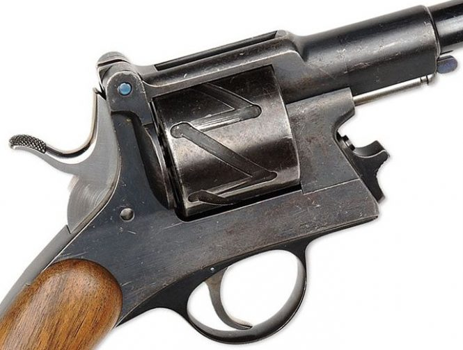 Mauser Zig Zag 1878 model hinged-frame improved