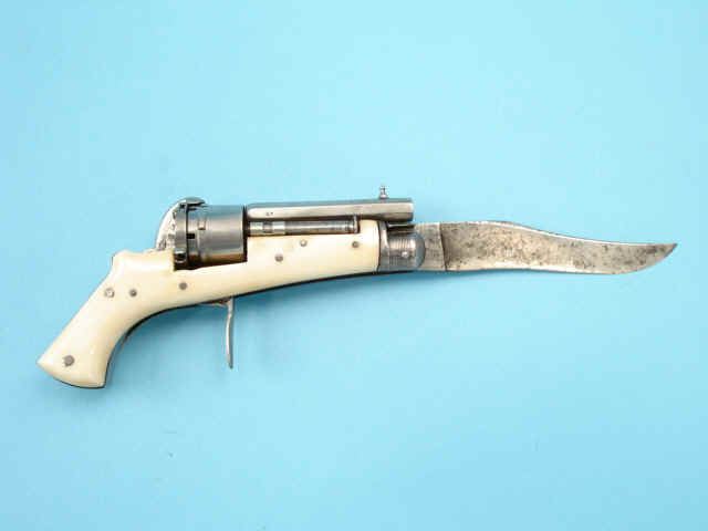 Pin-Fire Knife Revolver