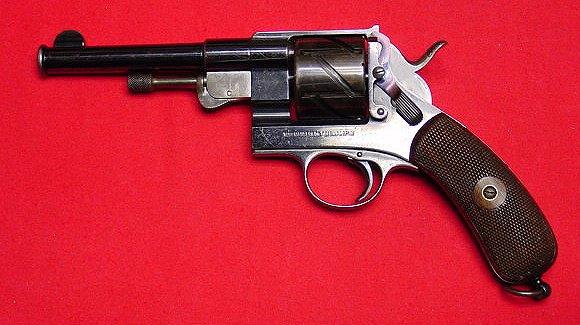 Mauser Zig Zag Mod.1878 solid frame Revolver