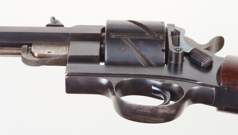 Револьверный карабин Маузер Зиг-Заг с цельной рамкой