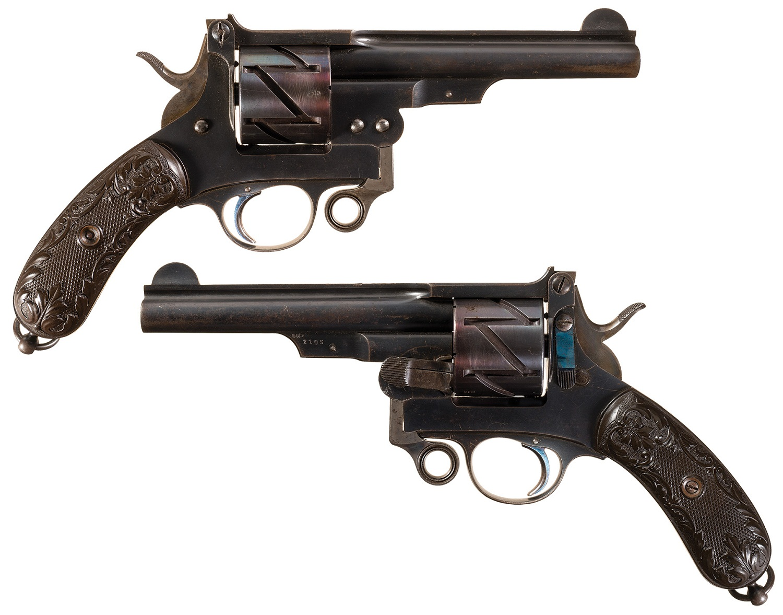 Mauser Model 1878 revolver in caliber 10,6