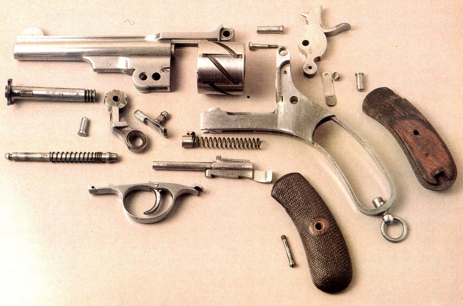 Disassembly of the Mauser Zig Zag 1878 model hinged-frame