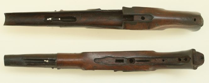 French flintlock pistol model of 1763/66