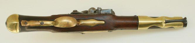French flintlock pistol model of 1763/66