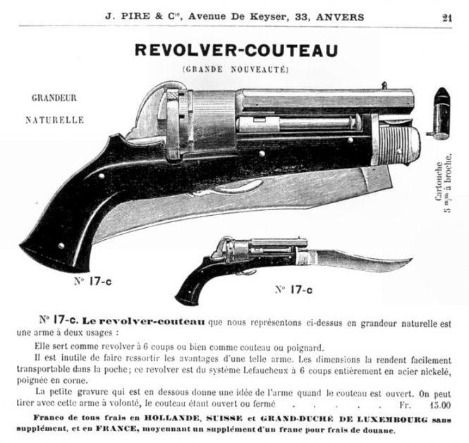 Le revolver-couteau